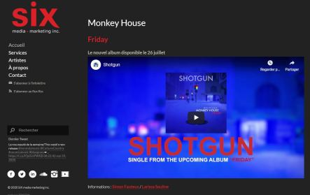 SixMedia Monkey House